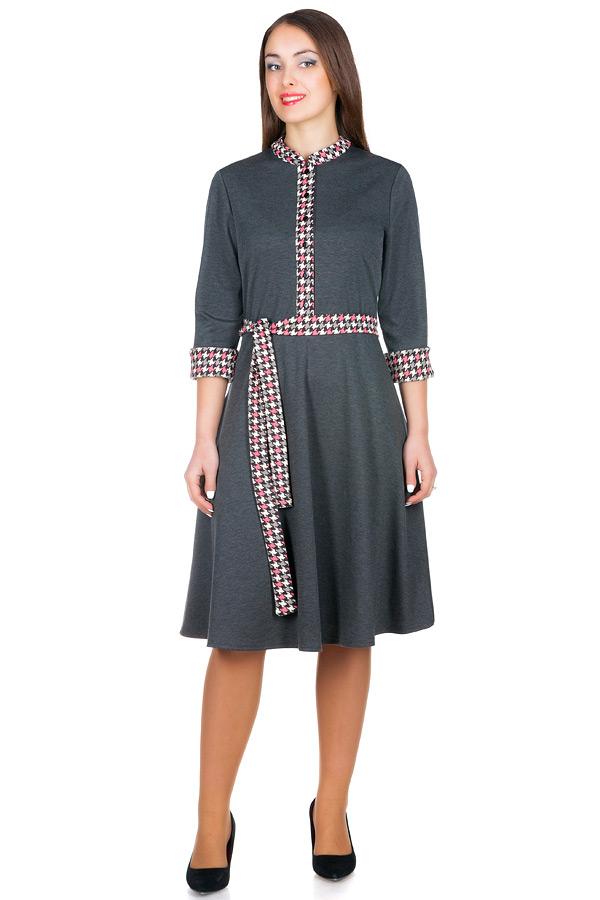 Платье БР Rufina Серый