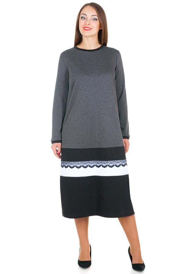 Платье БР Samanta Серый