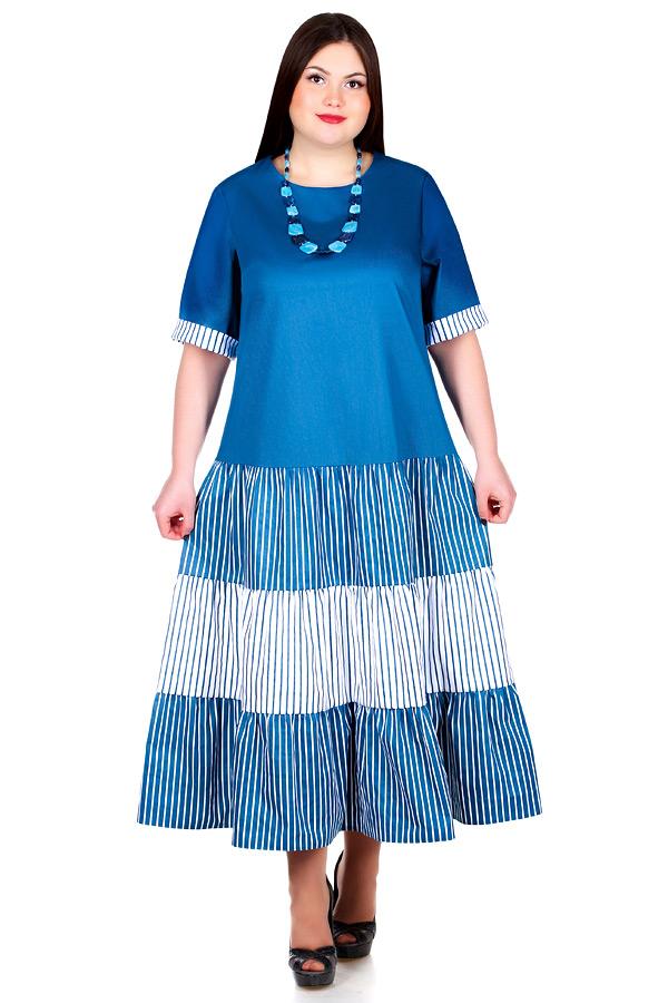 Платье БР Versaviya Морская волна