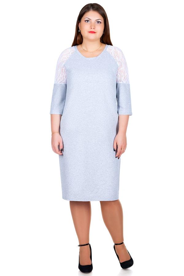 Платье БР Fiona Серый