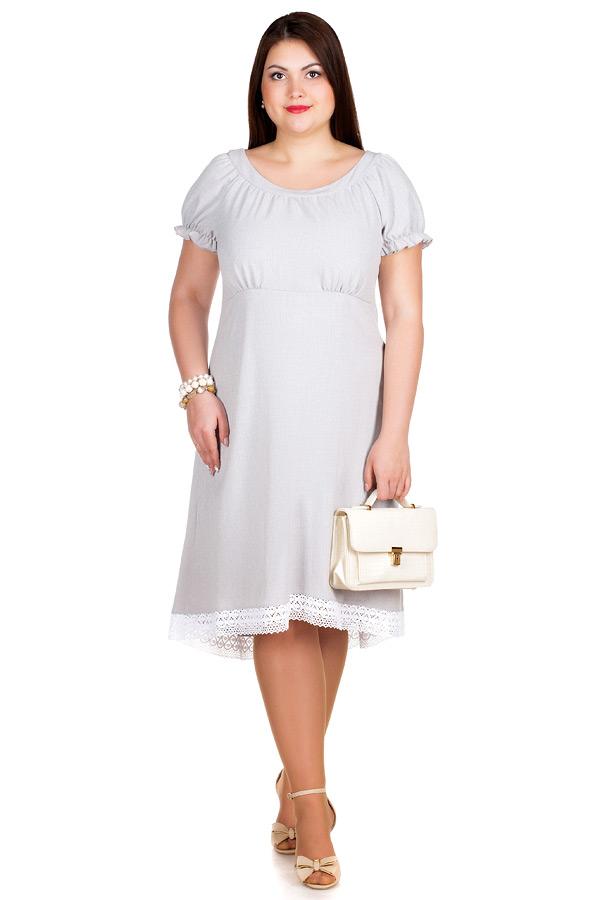 Платье БР Disha Светло-серый