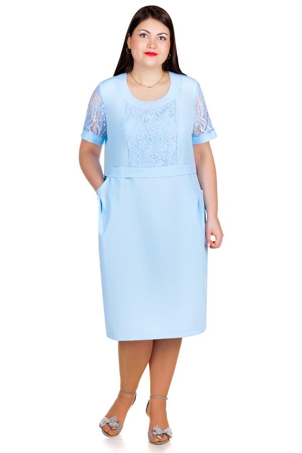 Платье БР June Голубой