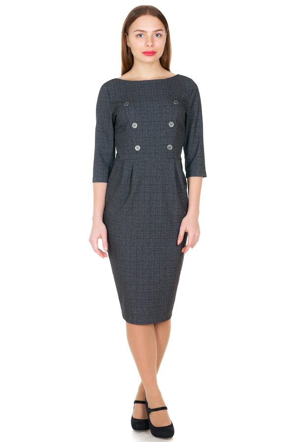 Платье МР Gwinet Серый