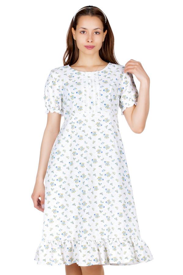 Платье МР Biteg Розочки голубые