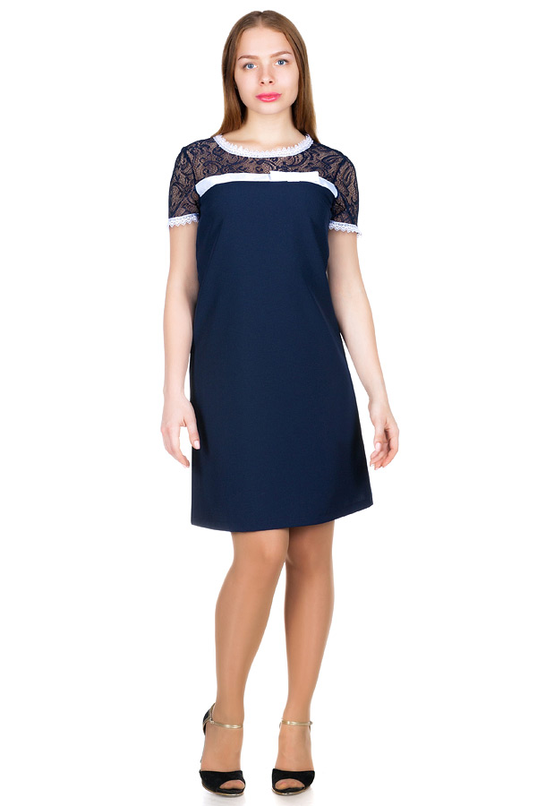 Платье МР Erma Темно-синий