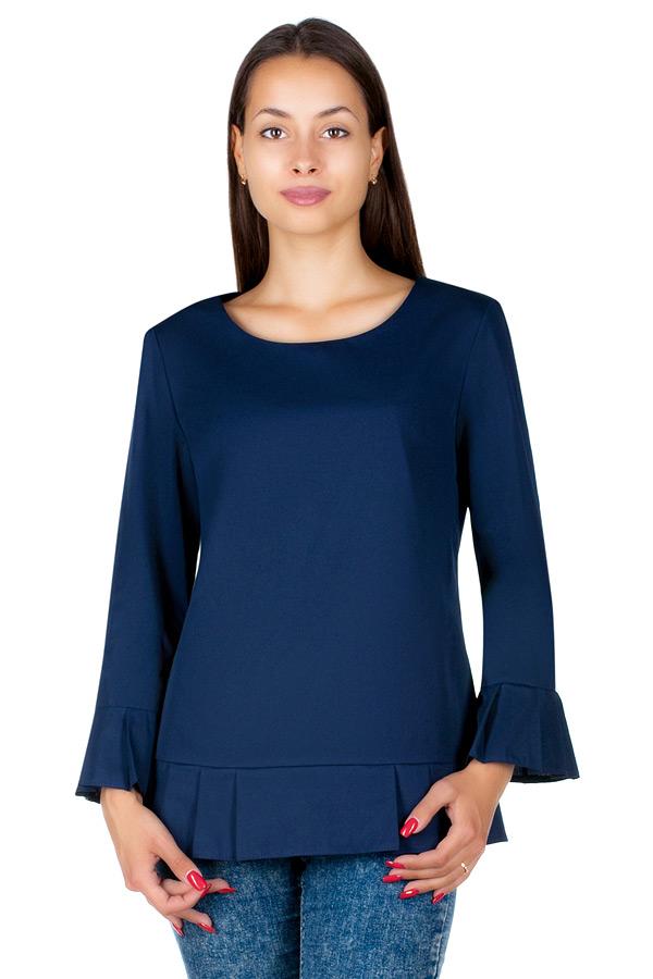 Блуза МР Trisa Темно-синий