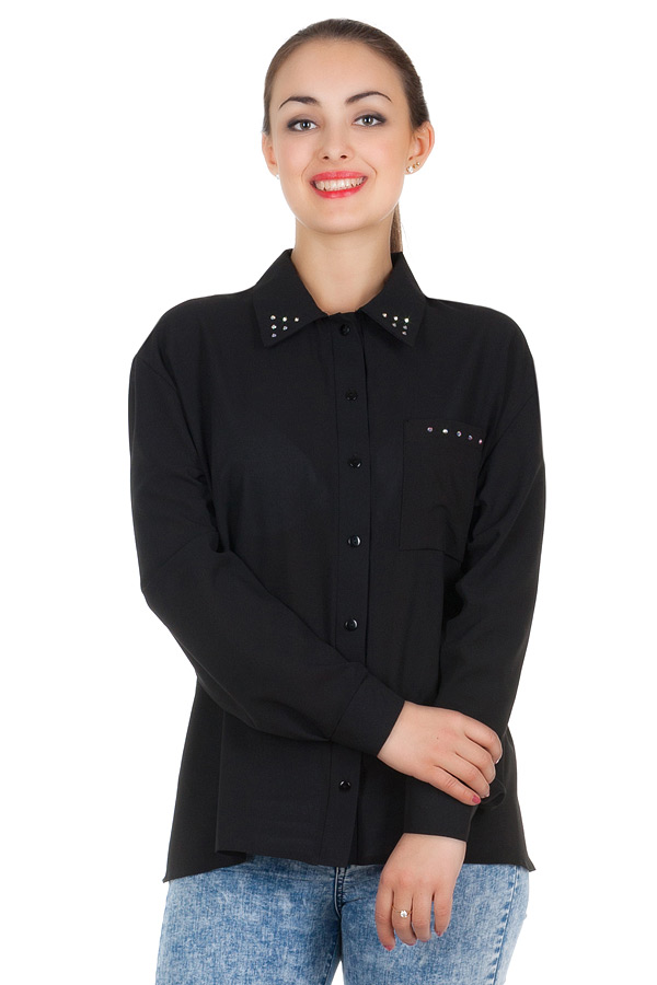 Рубашка БР Janett Черный