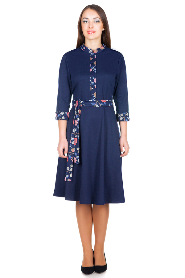 Платье БР Rufina Темно-синий
