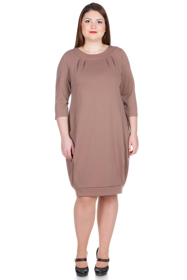 Платье БР Adamina Светло-коричневый
