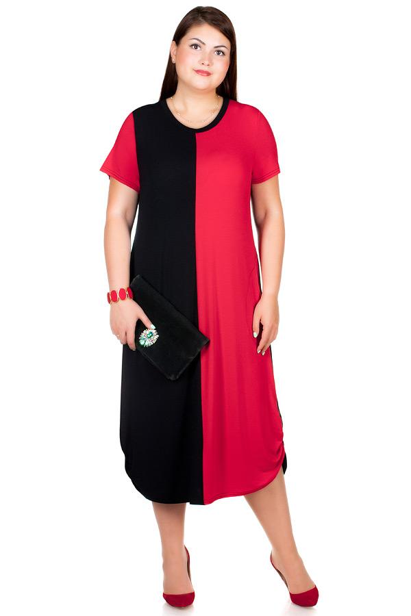 Платье БР Mora Красный+черный