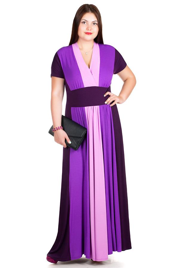 Платье БР Sharlize Темно-фиолетовый