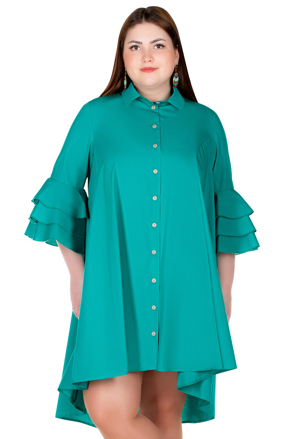 Платье БР Grenia Ярко-зеленый