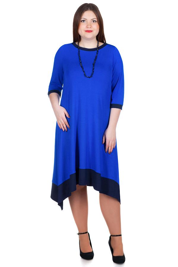 Платье БР Lera Василек+темно-синий