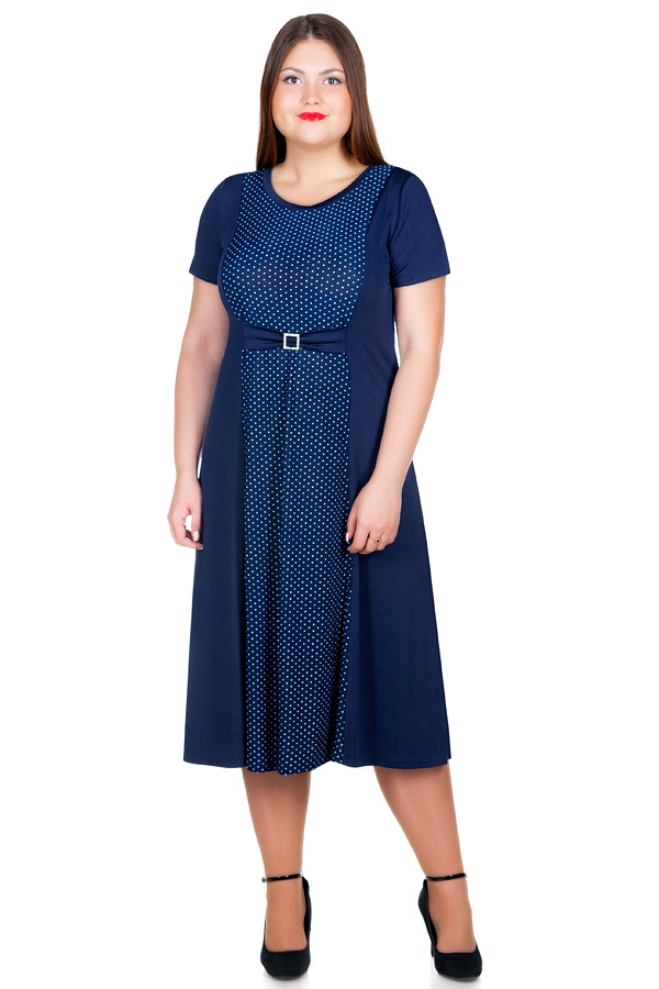 Платье БР Alsou Темно-синий
