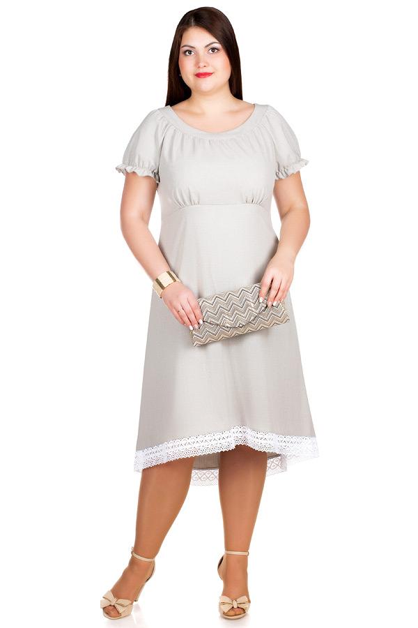 Платье БР Disha Серо-зеленый