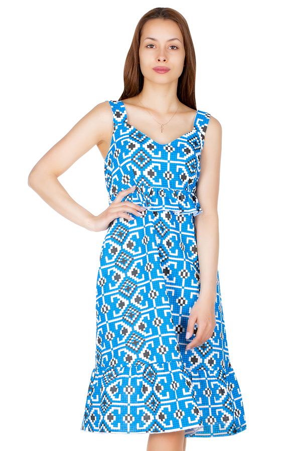 Платье МР Lula Крестики синие
