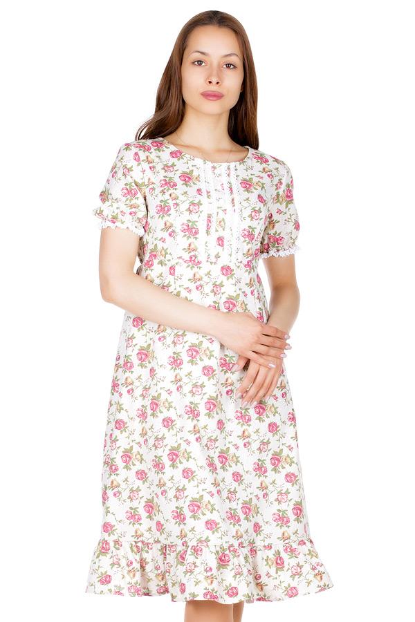 Платье МР Biteg Розы малиновые