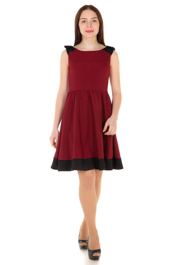 Платье Angelica Бордо
