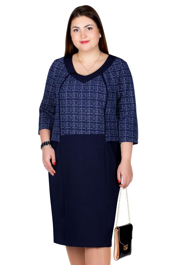 Платье БР Nereida Темно-синий+белый