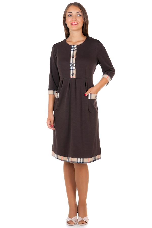 Платье БР Batty Темно-коричневый
