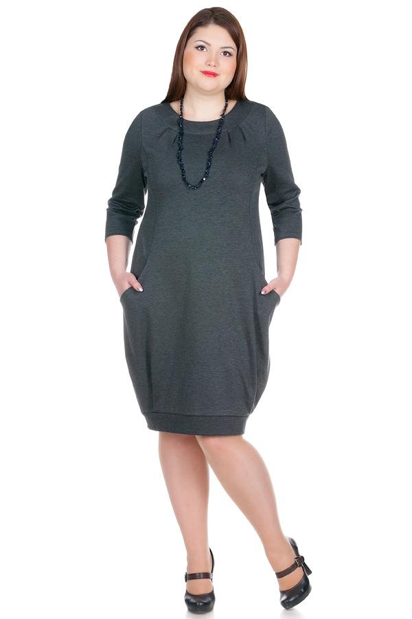 Платье БР Adamina Серый