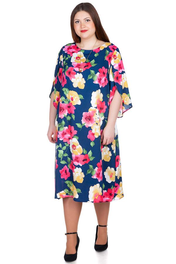 Платье БР Nerina Яркие цветы