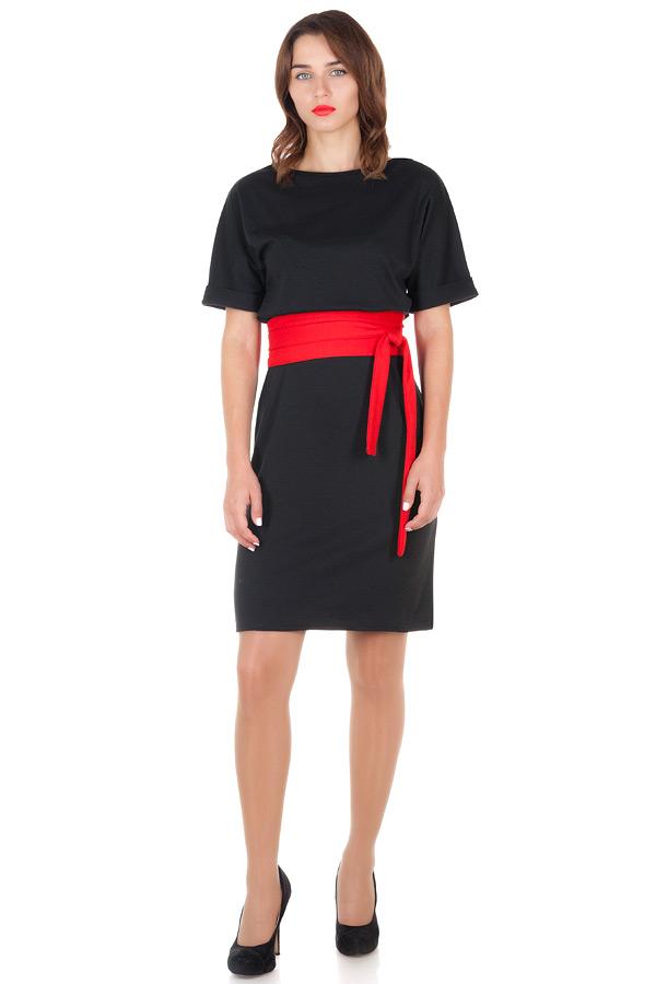 Платье Ester 2 Черный+Красный