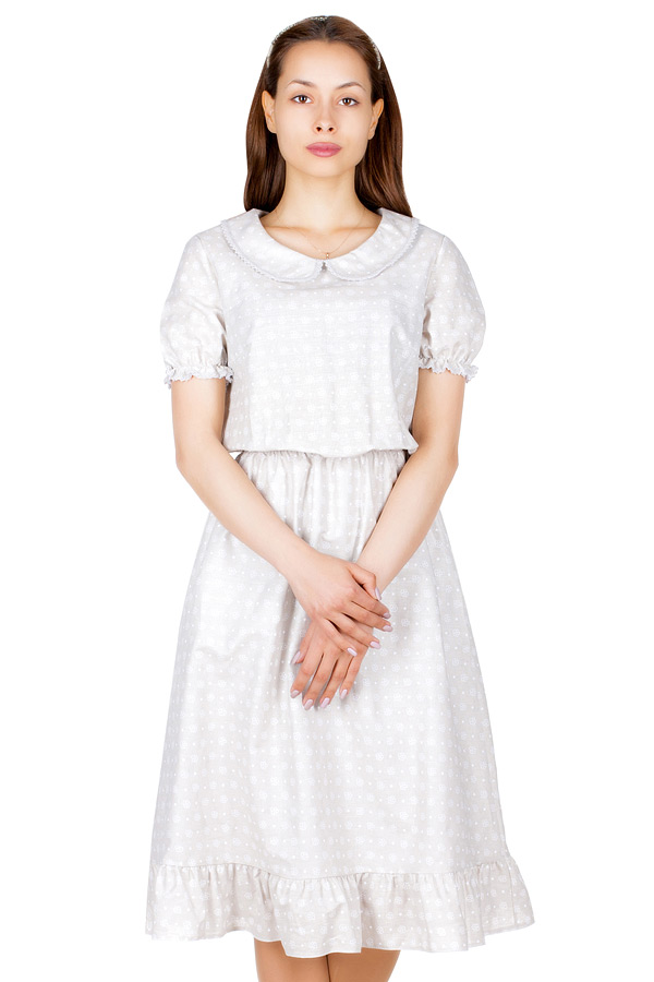 Платье МР Moina Бутоны светлые