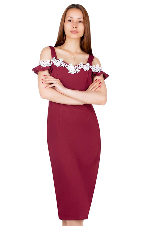Платье МР Birgit Бордо