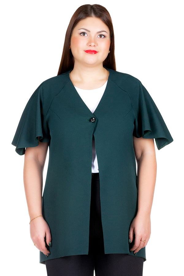 Жакет БР Teona Темно-зеленый