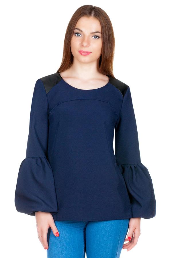 Блуза МР Kozima Темно-синий