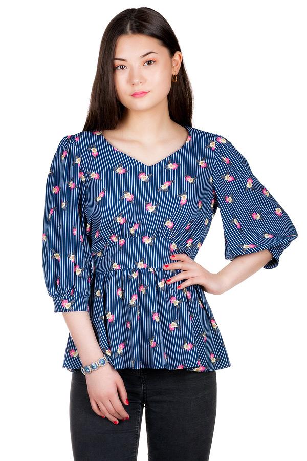 Блуза МР Aira Темно-синий