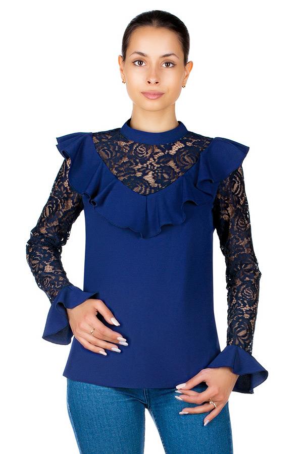Блузка МР Rosalia Темно-синий