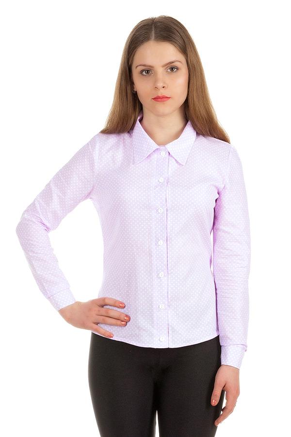 Рубашка длинный рукав Сиреневый