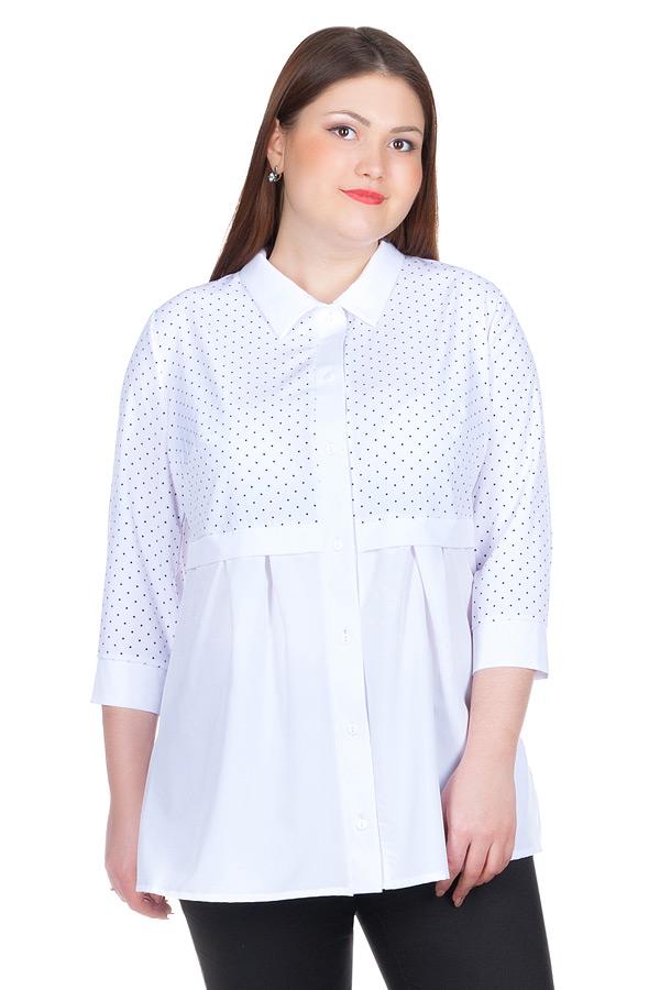 Блуза БР Nilda Белый