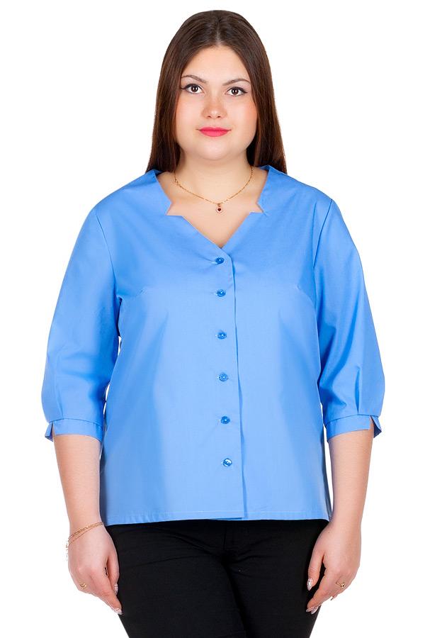Блуза БР Sasha Голубой