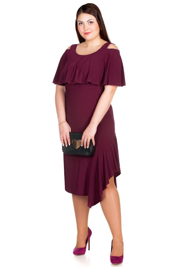 Платье БР Lina Баклажан