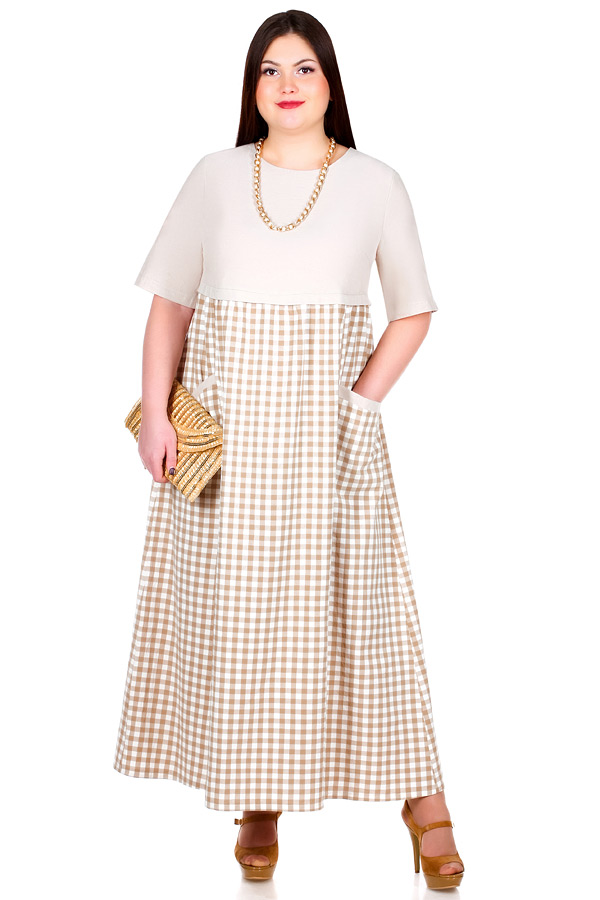 Платье БР Tolly Бежевый