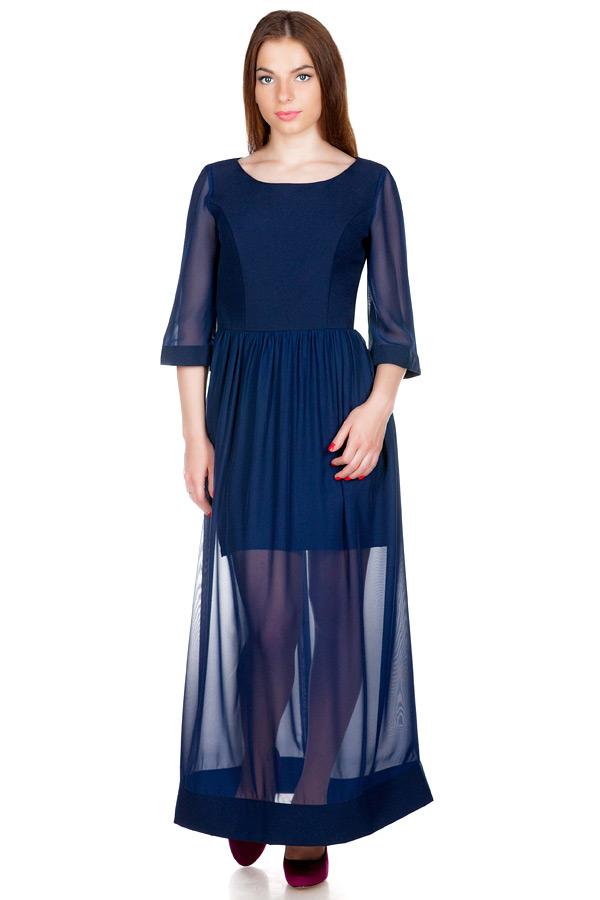 Платье МР Romilda Темно-синий
