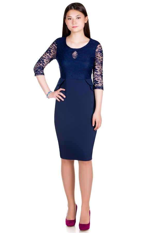 Платье МР Murana Темно-синий
