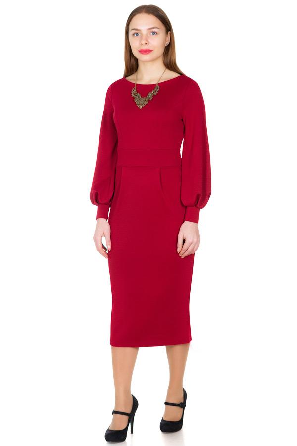 Платье МР Lesley Бордо