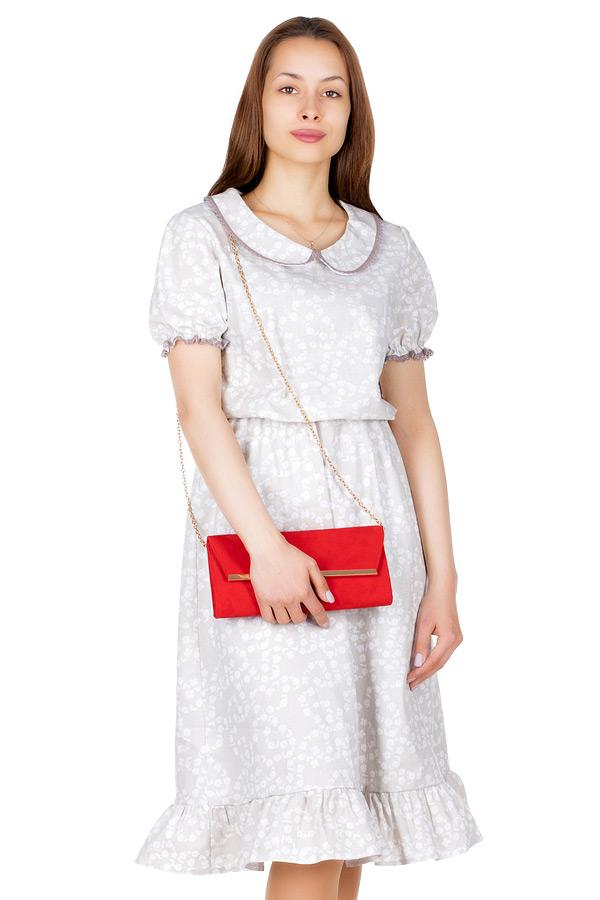 Платье МР Moina Цветы на темном