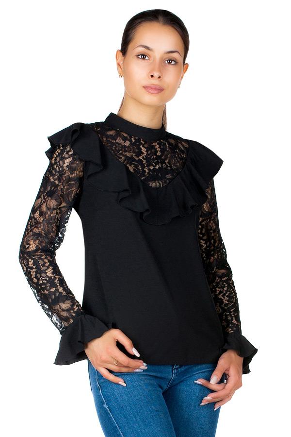Блузка МР Rosalia Черный