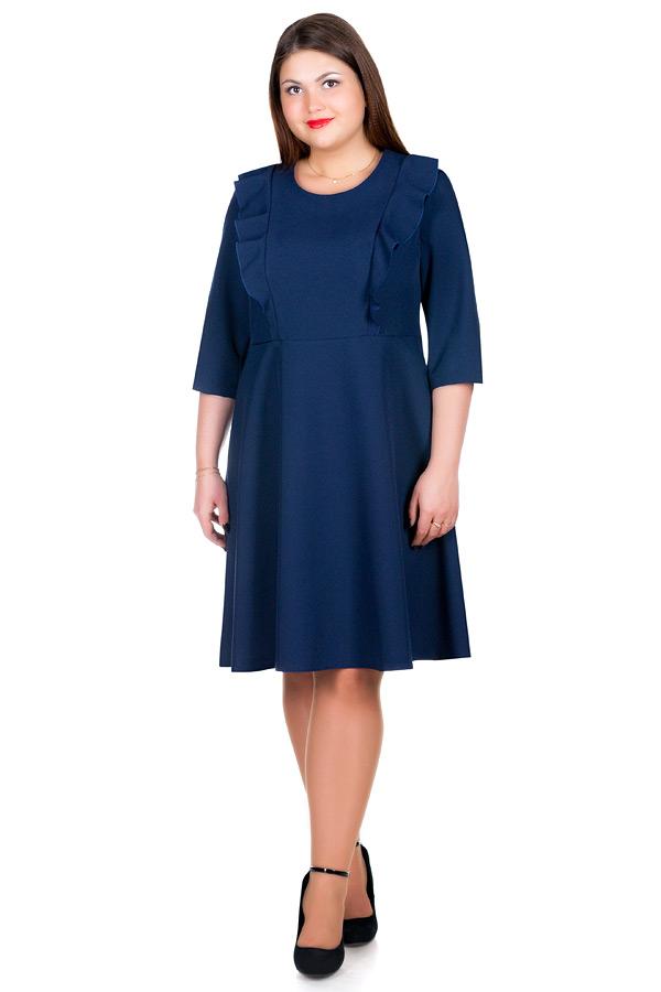 Платье БР Lika Темно-синий