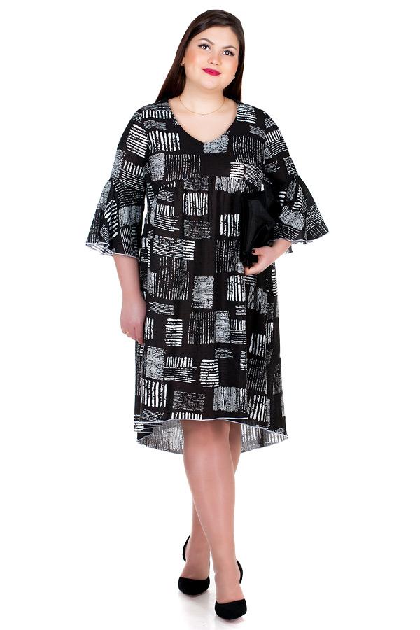 Платье БР Patti Черные штрихи