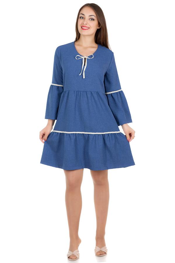 Платье БР Caprice Синий