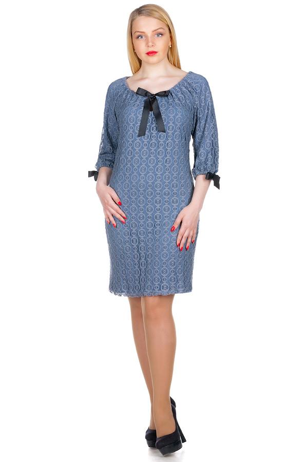 Платье МР Emilia Серый