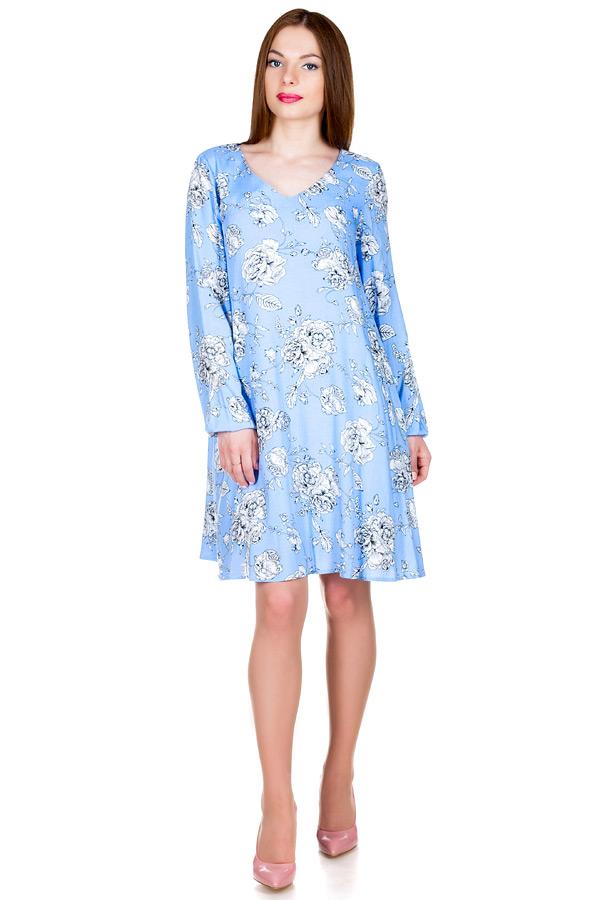 Платье МР Velia Голубой