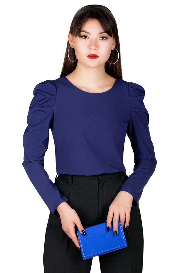 Блузка МР Lusinda Темно-синий