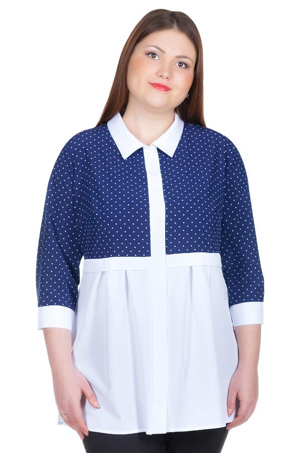 Блуза БР Nilda Темно-синий
